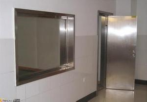 Xray proof swing door