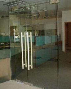 manaul swing glass door