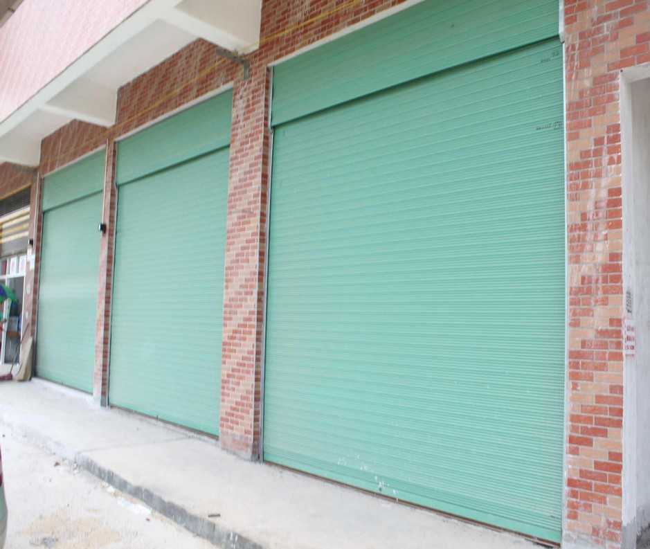 security steel roller shutter